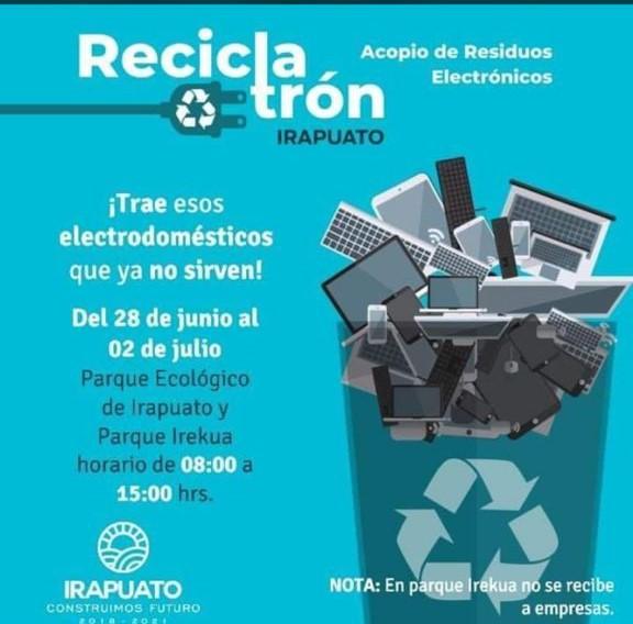 del 28 de junio al 2 de julio el Reciclatron