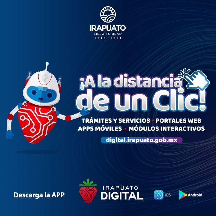 "Presentan el nuevo portal ´´Irapuato digita"""