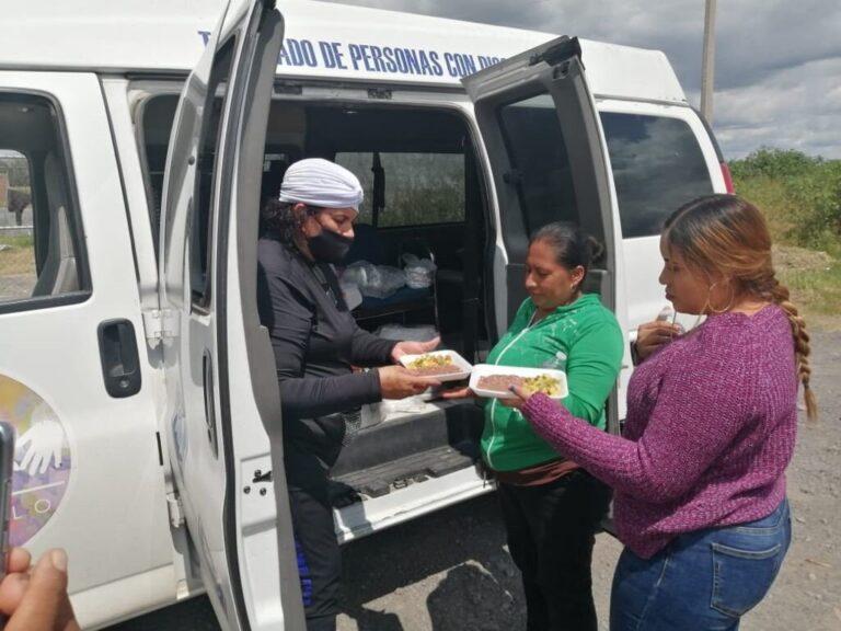 DIF Municipal lleva alimentos a Damnificados