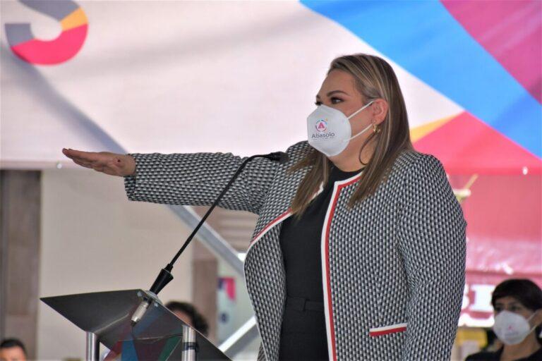 Rinde Protesta Rocío Cervantes Barba, Presidenta Municipal de Abasolo