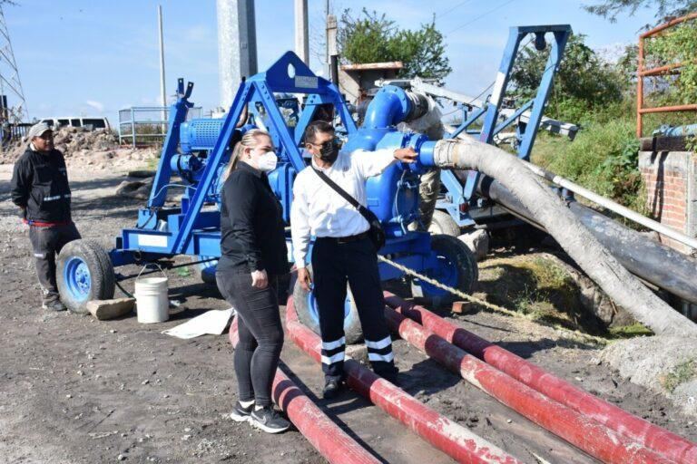Situación por inundaciones, prioridad para Rocío Cervantes
